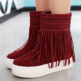 Ericdress New Ethnic Tassels Ankle Boots