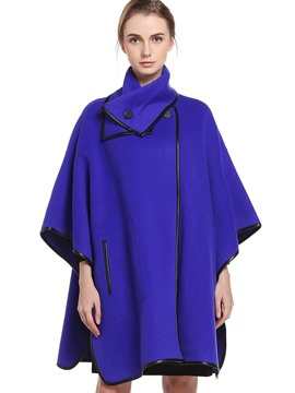 Ericdress Loose Turtleneck Cape