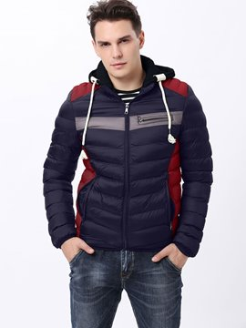 Ericdress Hood Thicken Warm Vogue Men's Winter Coat