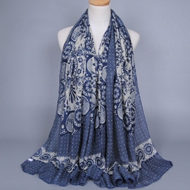 Ericdress Geometric Pattern Printed Scarf