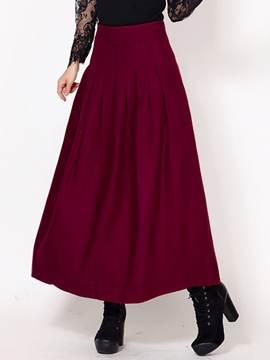 Ericdress Vintage Thick Usual Skirt