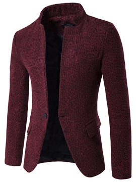 Ericdress Quality Vogue Stand Collar Slim Men's Blazer