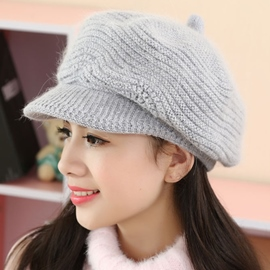 Ericdress Pure Color Knitted Hat