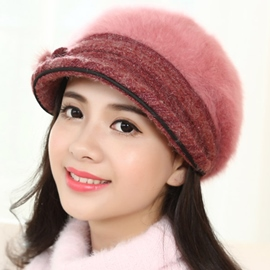 Ericdress Women's Warm Furry hat