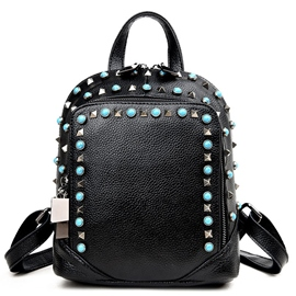 Ericdress Ethnic Rivets Decorated Backpack