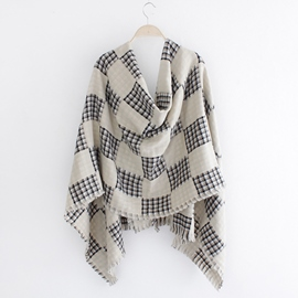 Ericdress Classic Grid Thick Scarf/Shawl