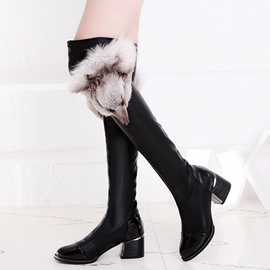 Ericdress Cute Fox Decorated Knee High Boots