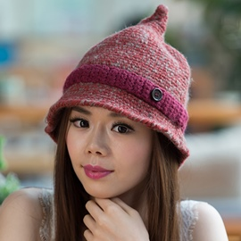 Ericdress New Style Winter Pointed Knitted Hat