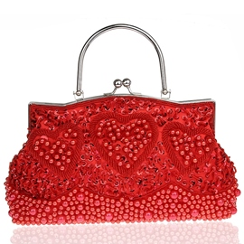Ericdress Pearl Embroidery Evening Clutch