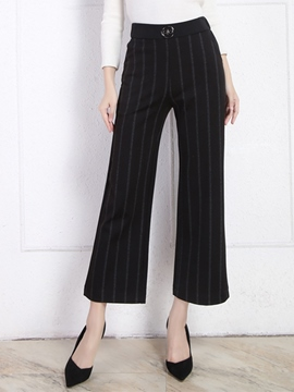 Ericdress Vintage Stripe Pants