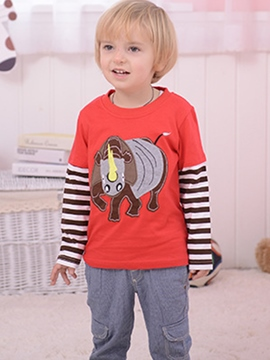 Ericdress Stirpe Print Baby Boys T-Shirt