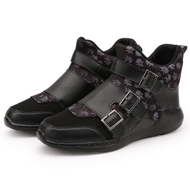 Ericdress Chic High Top Buckles Decorated Men's Sneakers