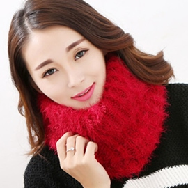 Ericdress Warm Solid Color Neck Warmer