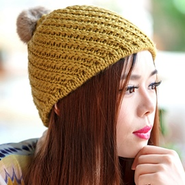 Ericdress Winter Warm Thick Women's Knitted Hat