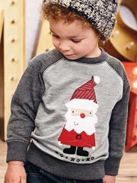 Ericdress Santa Long Sleeve Boys T-Shirt