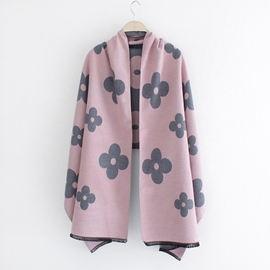 Ericdress Flower Imitation Cashmere Scarf/Shawl