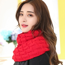 Ericdress Wavy Design Warm Neck Warmer