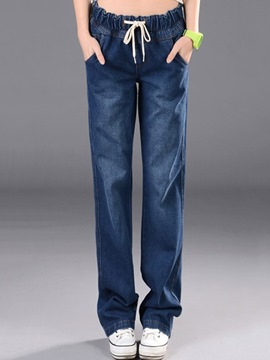 Ericdress Loose Casual Jeans