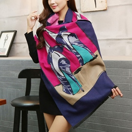 Ericdress Cashmere All Matched Printed Scarf