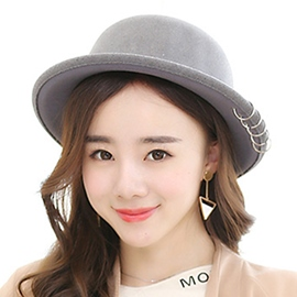 Ericdress Metal Circle Embellished Women's Hat