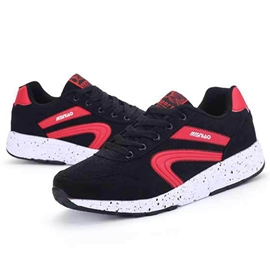 Ericdress Fashion Contrast Color Lace up Men's Sneakers