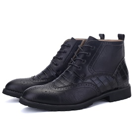 Ericdress Gentleman Brogue Men's Boots