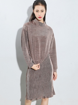 Ericdress Loose Solid Color Leisure Suit
