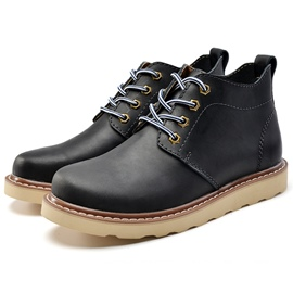 Ericdress Cool Round Toe Men's Martin Boots