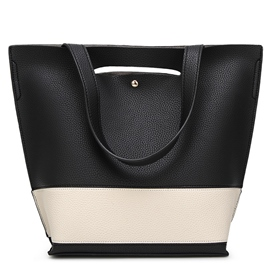 Ericdress Leisure Color Block Tote Bag