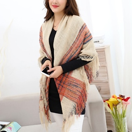 Ericdress Fashion All-Matched Fringed Scarf