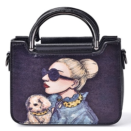 EricdressTemperament Painting Handbag