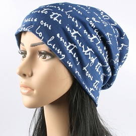 Ericdress Letters Printed Cotton Hat