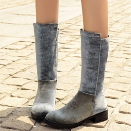 Ericdress Special Patchwork Knee High Boots