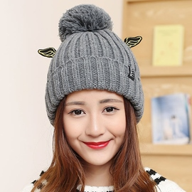 Ericdress Lovely Wings Design Women's Knitted Hat