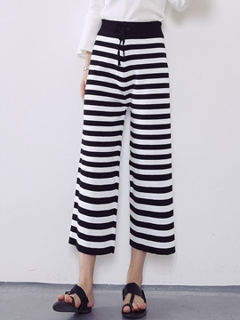 Ericdress Simple Stripe Casual Pants