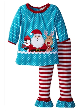 Ericdress Christmas 2-Piece Snug Girls Outfit
