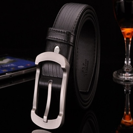 Ericdress Pin Buckle Serpentine Leather Design Men's Belt