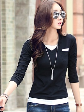 Ericdress Korean Style Casual T-Shirt