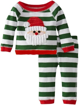 Ericdress Christmas Costumes Stripe Girls Outfit