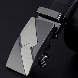 Ericdress Geometric Automatic Buckle Design Men's Belt