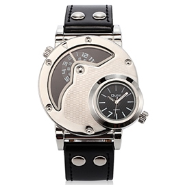 Ericdress Double Movement Alloy Dial Men's Watch