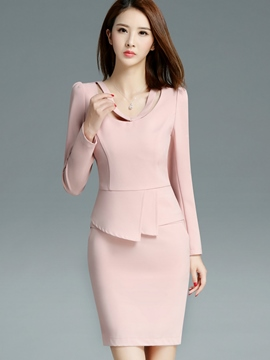 Ericdress OL Bodycon Skirt Leisure Suit
