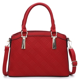 Leisure Pure ColorCheck Embossed Handbag