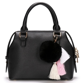 Casual Classic Tassel Decorated Handbag