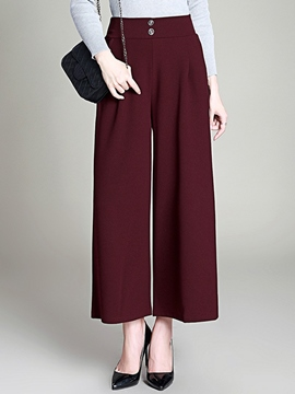 Ericdress Loose Nine Points Pants