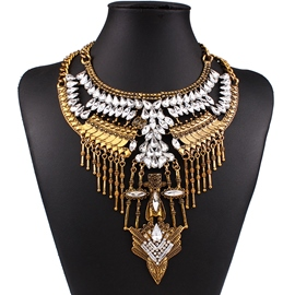 Ericdress Alloy Diamante Necklace