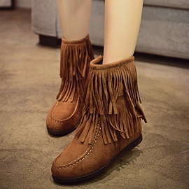 Ericdress New Charming Fringe Ankle Boots