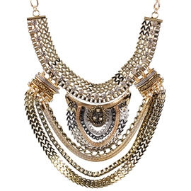 Ericdress Retro Exaggerated Alloy Necklace