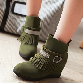 Ericdress Stylish Tassels Ankle Boots