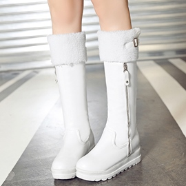 Ericdress Popular Side Zip Knee High Boots